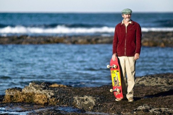 Clive Chadvick nad oceanem